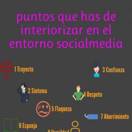 10 puntos que has de interiorizar en el entorno socialmedia